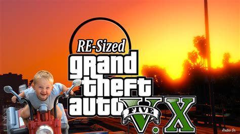 GTA V Re-Sized [Not Just Another FPS improvement Mod