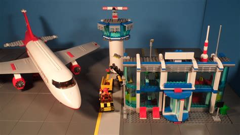 Lego 3182 Review Airport City (2010) - YouTube
