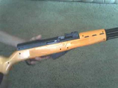 SKS airsoft gun review - YouTube