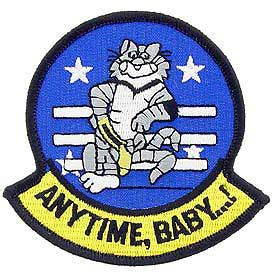 Navy F-14 Tomcat Anytime Baby Patch | North Bay Listings