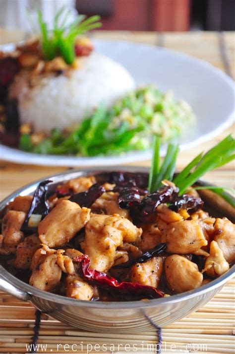 Kung Pao Chicken - Szechuan - Recipes 'R' Simple