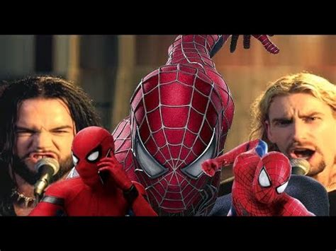 Nickelback - Hero (All spiderman) Music Video - YouTube