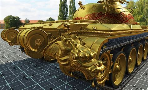 World of Tanks Type 59 Gold hd model   MMOWG