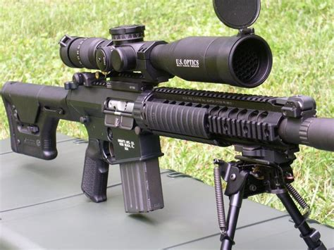 The SR-25 (Stoner Rifle-25) is a semi-automatic sniper