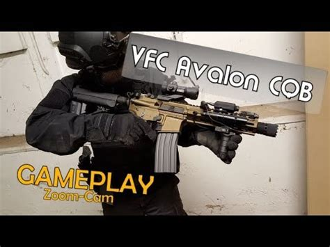 Airsoft VFC Avalon Gameplay - 4k/UHD + ZoomCAM - YouTube