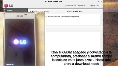 Revivir cualquier LG con LG mobile support tool - YouTube