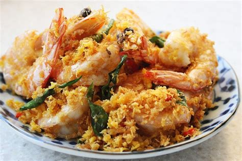 Butter Cereal Prawns | foodelicacy