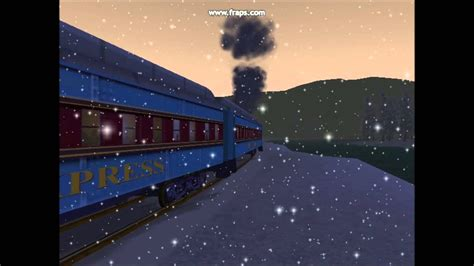 MSTS Polar Express music video - YouTube