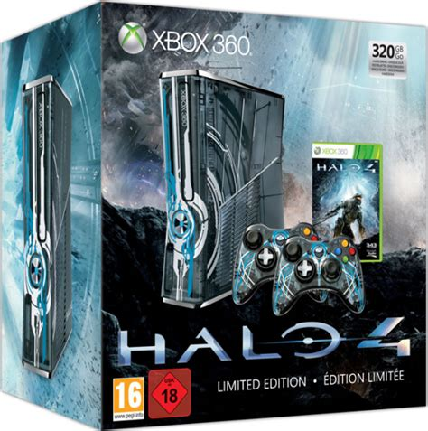 Halo 4 Xbox 360 320GB Console: Limited Edition Games