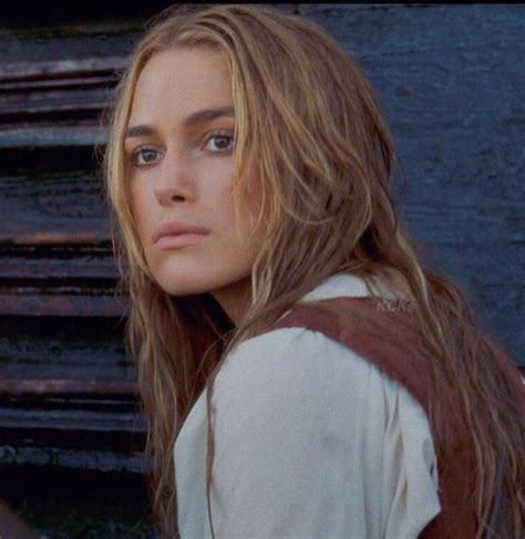 """Keira as Elizabeth Swann in """"Pirates of the Caribbean"""