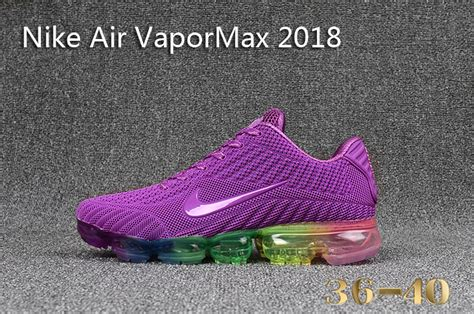 Newest Nike Air Vapor Max 2018 KPU Purple Multi-Color