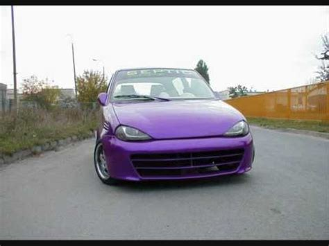 fiat seicento tuning - YouTube
