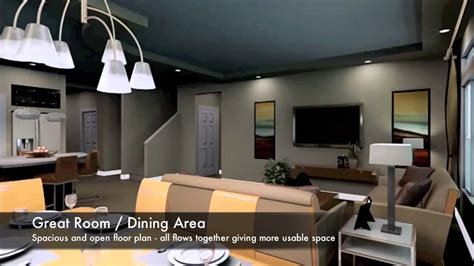 Gunnison Floor Plan - Virtual Tour - YouTube