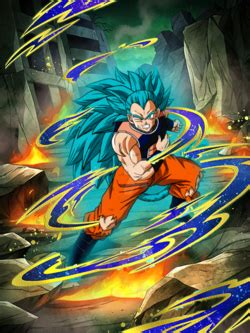 Cyan Ascension Super Saiyan God Super Saiyan Raditz (Good