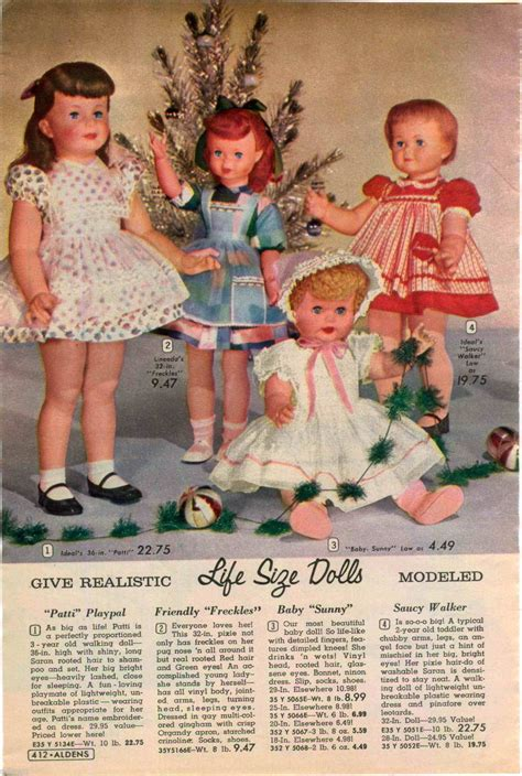 1960 ADVERT 4 PG Doll Tiny Tears Horsman Penny Betsy Wetsy