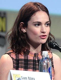 Lily James – Wikipédia