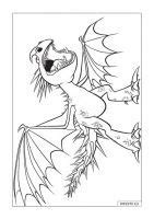 Free HD Characters How to Train Your Dragon coloring pages