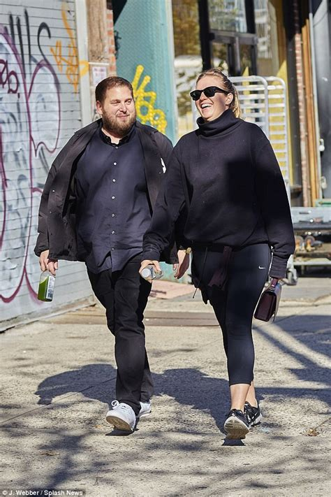 Jonah Hill appears to tackle his yo-yoing weight as he