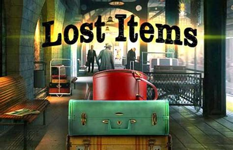 Lost Items - at hidden4fun