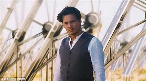 Johnny Depp undergoes cyber transformation in
