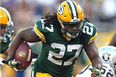 Packers RB Eddie Lacy tough test for Jets' run defense