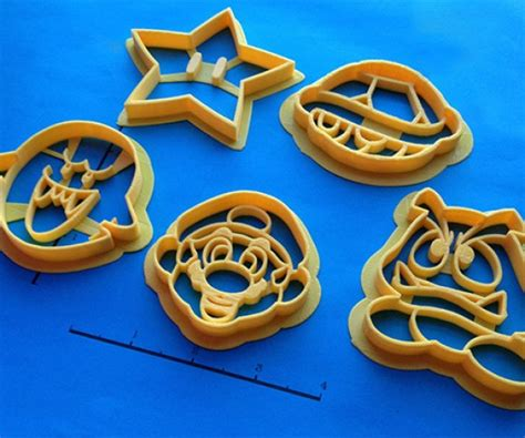 Custom 3D-Printed Cookie Cutters Give You Awesomely Custom